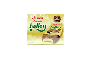 ÜLKER CHOCOLATE HALLEY 30GR 12 EDED