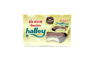 ÜLKER CHOCOLATE HALLEY 30 GR 8 EDED